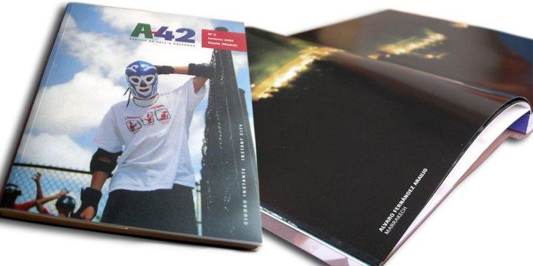Participación en la Revista A-42
