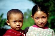 Niños en Tailandia