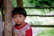 Niño en Tailandia