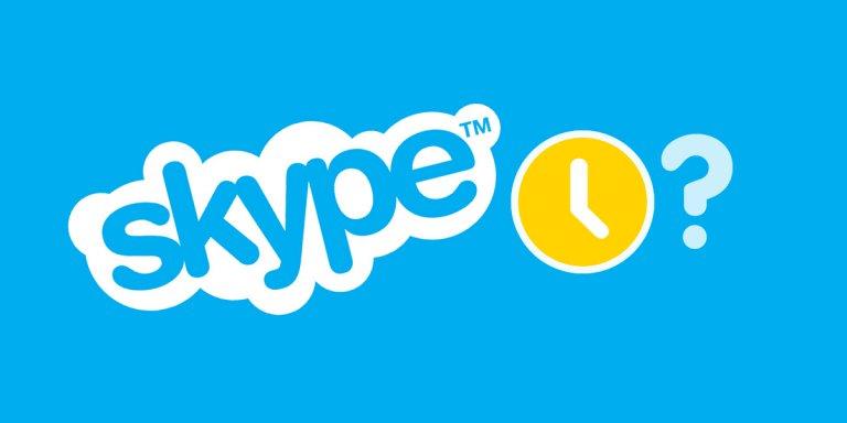 ¿Por qué hay personas que aparecen siempre conectadas en Skype?