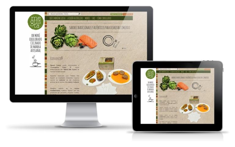 Diseñador web para empresa de alimentación saludable