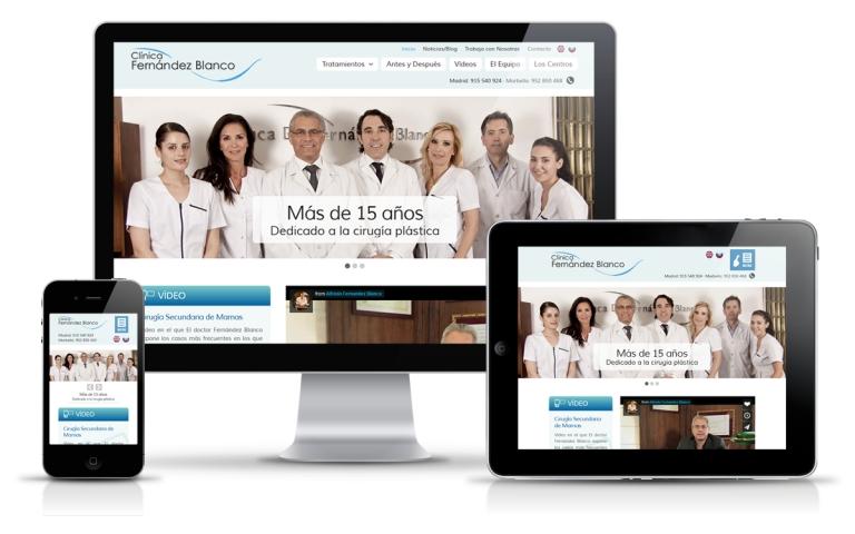 Diseñador web para clínica de cirugía