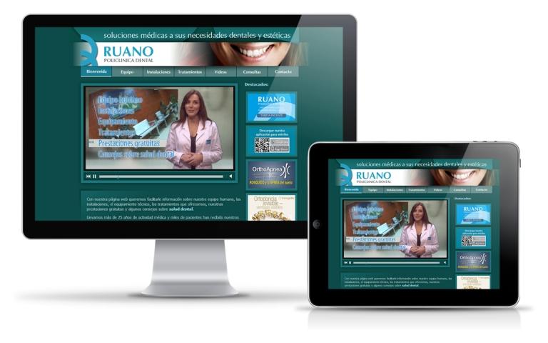 Diseñador web para clínica dental