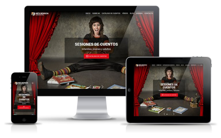 Diseñador Web Freelance para cuentacuentos