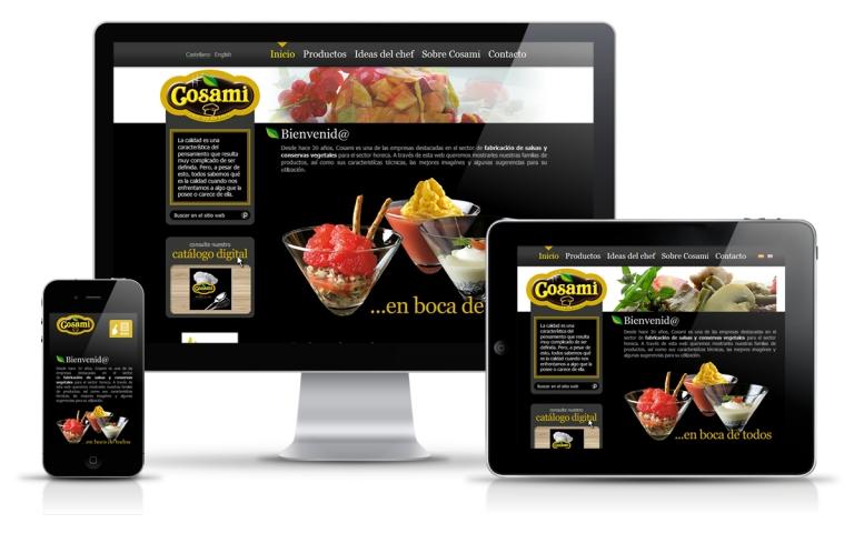 Diseñador web para Fabricante de Conservas y Salsas