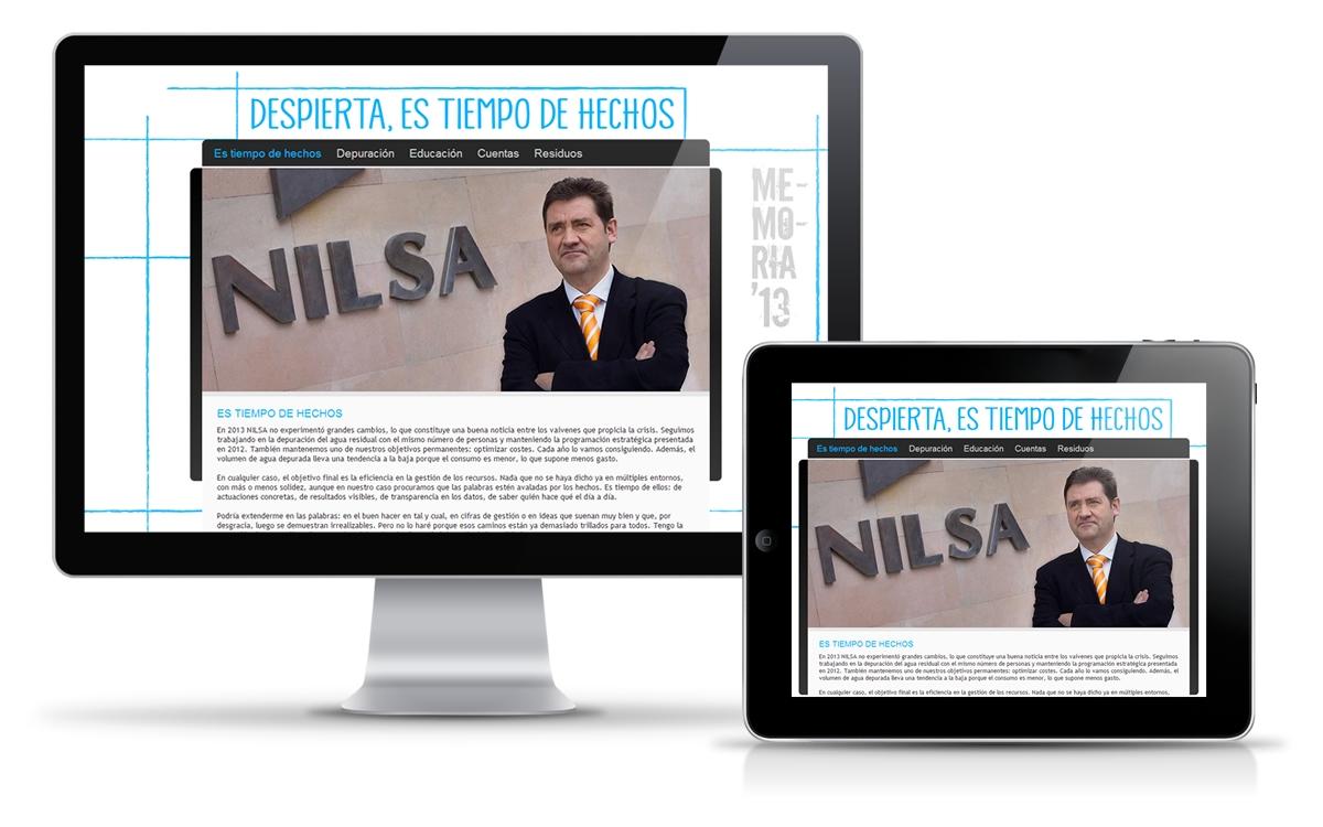 Nilsa, trabajos diseñador web freelance