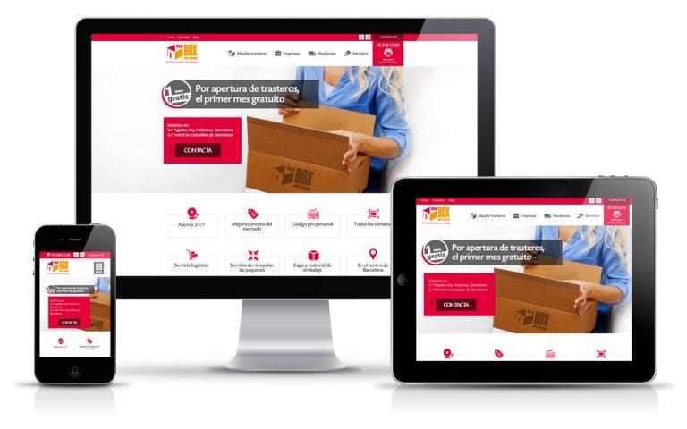 Diseñador Web Freelance para alquiler de trasteros