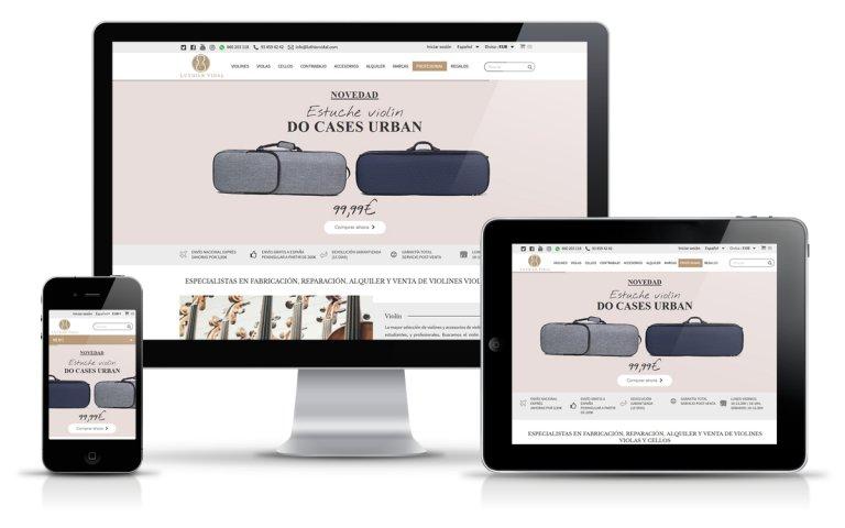 Diseñador Web Freelance para tienda online de luthier